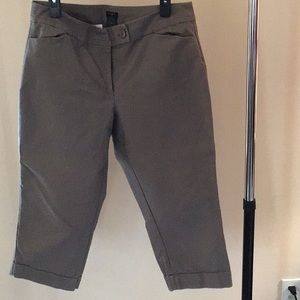 Anne Taylor Cropped chinos size 14